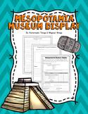 Ancient Mesopotamia: Museum Display Project