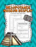 Ancient Mesopotamia: Museum Display Project