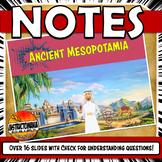 Ancient Mesopotamia PowerPoint Sumeria