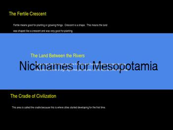 Ancient Mesopotamia Powerpoint