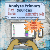 Ancient Mesopotamia Primary Source Analysis For Google Cla