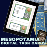Ancient Mesopotamia QR Code Task Cards