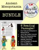Ancient Mesopotamia Reading Passages BUNDLE