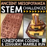 Ancient Mesopotamia Activities STEM Project Challenges