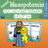 Ancient Mesopotamia Scavenger Hunt