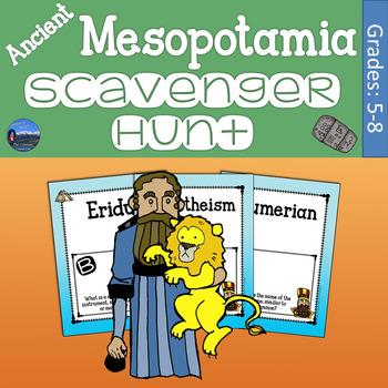 Ancient Mesopotamia Scavenger Hunt