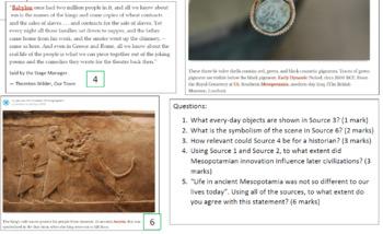 Ancient Mesopotamia Source Analysis