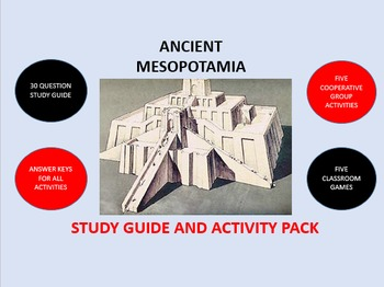 Ancient Mesopotamia:  Study Guide and Activity Pack
