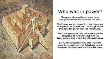 Ancient Mesopotamia Timeline