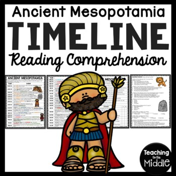 Ancient Mesopotamia Timeline Worksheet with Questions, Bab