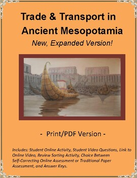 Ancient Mesopotamia Trade & Transportation Online Video &