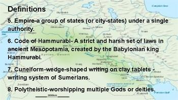 Ancient Mesopotamia Unit