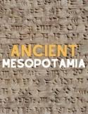 Ancient Mesopotamia Unit Study