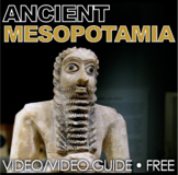 Ancient Mesopotamia Video Questions - Youtube Video Link Included! Free!