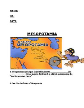 Ancient Mesopotamia WS