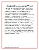 Ancient Mesopotamia Word Wall