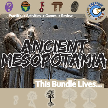 Ancient Mesopotamia -- World History Curriculum Unit Bundle