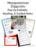 Ancient Mesopotamia Ziggurts Pop-Up Foldable Project & Guided Reading