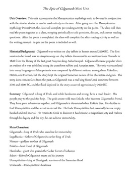 Ancient Mesopotamian Mythology