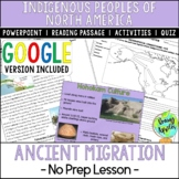 Ancient Migration to North America; Indigenous Peoples; Di