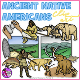 Ancient Native Americans clip art