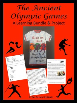 Ancient Olympic Games: Learning Bundle & Project for Greece