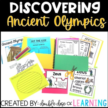 Ancient Olympics Research unit with PowerPoint