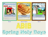 Ancient Paleo Hebrew & Modern Hebrew Posters -Spring Feasts