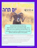 Posters for Counting The Omer -Sefirat HaOmer, Feast of Trumpets - Yom Teruah