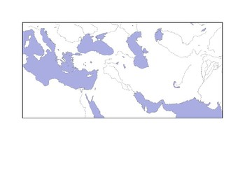 Ancient Persia Map Assignment