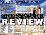 Ancient River Civilizations Crossword Puzzle Review