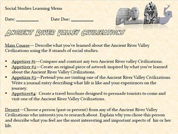 Ancient River Valley Civilizations Lessons with Interactive Notebook Activities