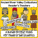 Early Civilizations (Egypt, Mesopotamia, China, India) Reader's Theater Bundle!