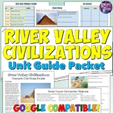 Ancient River Valley Civilizations Study Guide and Unit Packet