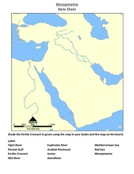 World History: Ancient River Valley Civilizations Unit Interactive Notebook
