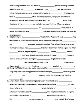 Ancient River Valley Unit Test and Study Guide
