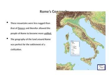 Ancient Roman Beginnings Notes