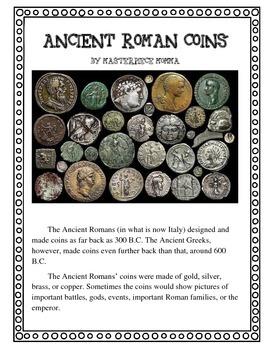 Ancient Roman Coins Lesson