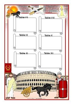Ancient Roman Law - The Twelve Tables