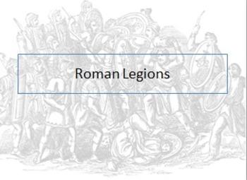 Ancient Roman Legions