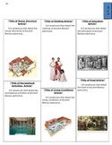Ancient Roman Newsletter Newspaper Template Patricians Plebians Project Activity