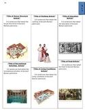 Ancient Roman Newsletter Newspaper Template Patricians Plebians Project Activity