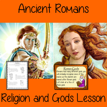 Ancient Roman Religion and Gods Complete History Lesson