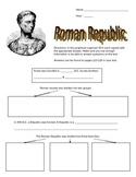 Ancient Roman Republic Graphic Organizer