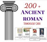 Ancient Roman Terminology Cards