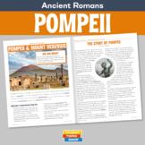 Ancient Romans - Pompeii and Mount Vesuvius