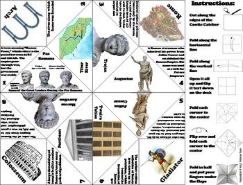 Ancient Rome Unit Activity (Julius Caesar, Consuls, Senate etc)