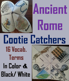 Ancient Rome Activity (Cootie Catcher Foldable Review Game)