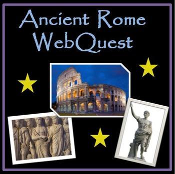 Ancient Roman Empire Webquest