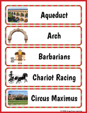 Ancient Rome Vocabulary - Ancient Rome Word Wall
